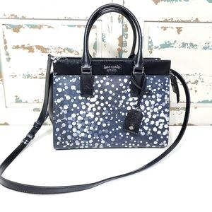 Kate Spade dotted satchel NWT